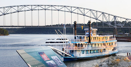 Mississippi River Cruises on the Riverboat Twilight | America's