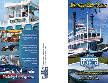 printable brochure mississippi river cruises on the riverboat twilight